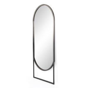 Dawson Ombre Pewter Floor Mirror