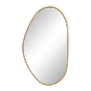 Brinley Antique Brass Mirror