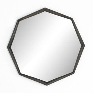 Perla Slate Aluminum Mirror