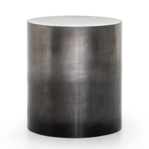 Cameron Ombre Antique Pewter End Table