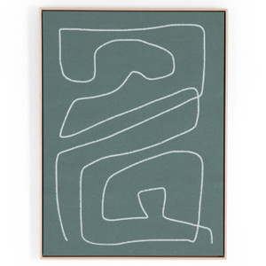 Line Abstract 1 By Dan Hobday Wall Art
