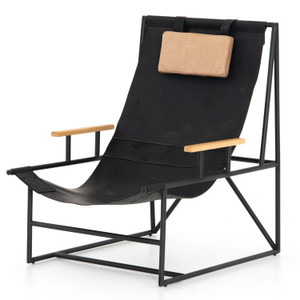 Judson Ebony Natural Sling Chair