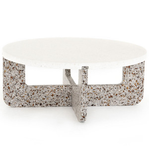 Lolita Amber & Grey Outdoor Coffee Table