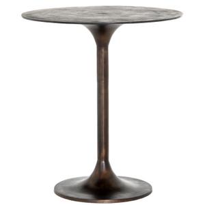 Simone Antique Rust Counter Table