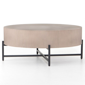 Jolene Taupe Outdoor Coffee Table
