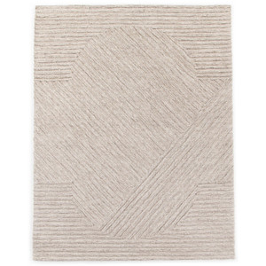 Chasen Heathered Natural Outdoor Rug