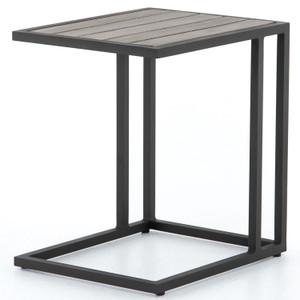 Alda Weathered Grey Outdoor C Table