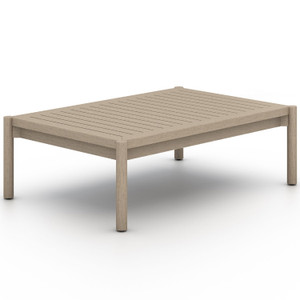 Nelson Washed Brown Outdoor Coffee Table