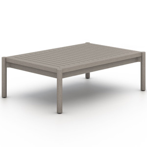 Nelson Weathered Grey Outdoor Coffee Table
