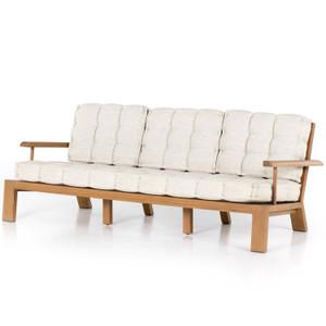 """Beck Natural Teak Outdoor Sofa 85"""""""