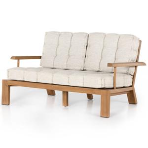 """Beck Natural Teak Outdoor Sofa 59"""""""