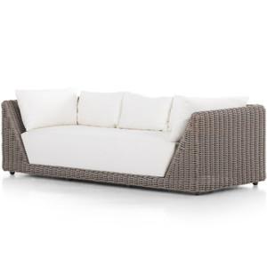 """Como Natural Woven Outdoor Sofa-97"""""""