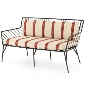 """Dali Collector Dune Cushion Dark Bronze Finish Outdoor Sofa-58"""""""