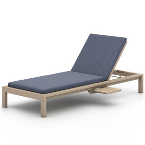 Sonoma Washed Brown Outdoor Chaise