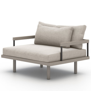 Nelson Weathered Grey Outdoor Chair