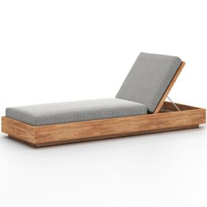 Kinta Natural Teak Outdoor Chaise