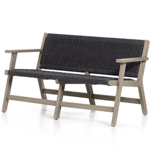 Delano Weathered Grey Outdoor Sofa