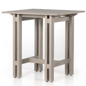 Balfour Grey Teak Bar Table