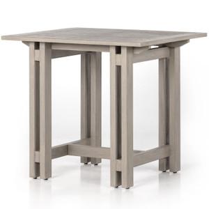 Balfour Grey Teak Counter Table