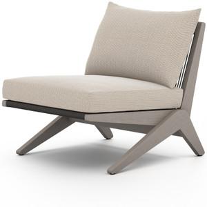 Virgil Grey Teak Outdoor Chair