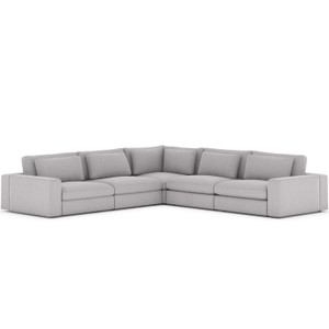 Bloor Union Grey 5-Piece Sectional