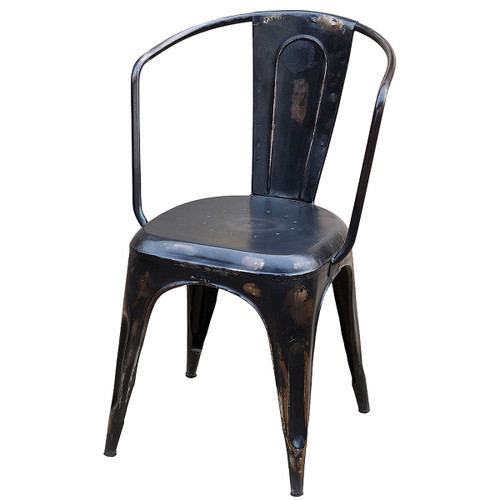 Iron Bistro Armchairs