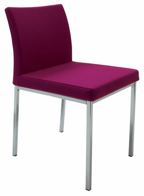 Aria Chrome Dining Chair