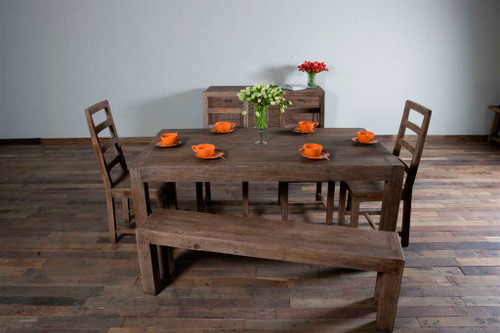 Parsons Dining Table 71 Sundried Ash