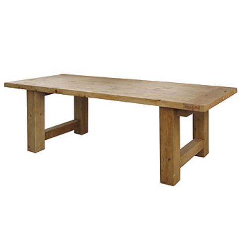 "Barn House Wood Dining Room Table 98"""