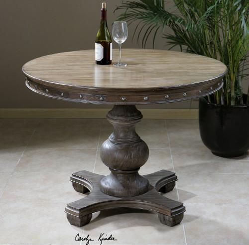 Sylvana Round Pedestal Table 42\