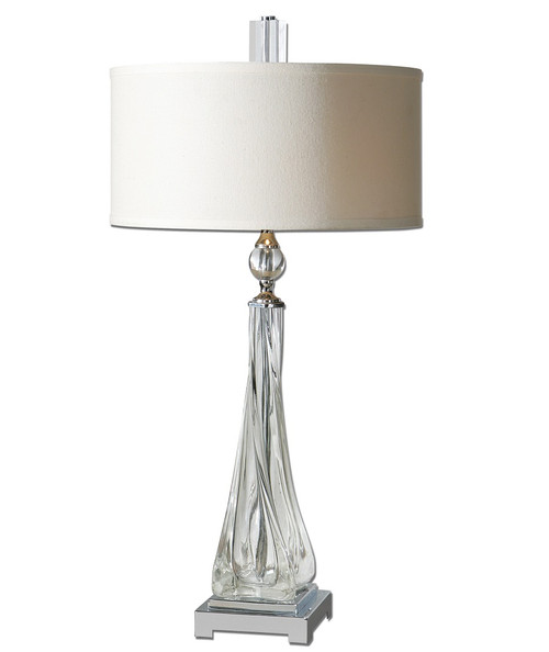 Grancona Twisted Crystal Table Lamp