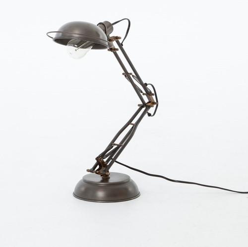 Architect Task Desk Lamp-Pewter