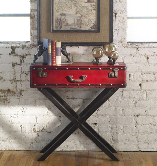 Taggart Trunk Console Table; Taggart Solid Wood Trunk Console Tables