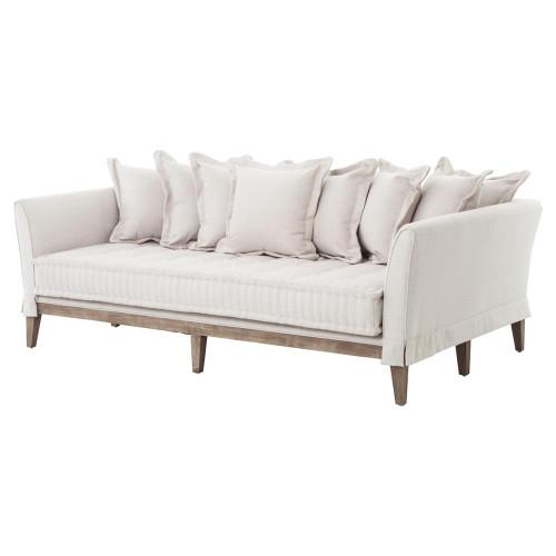 Dedon French Country Coastal Style Light Sand Sofa