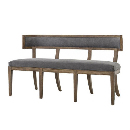 Carter Upholstered Curved Dining Bench