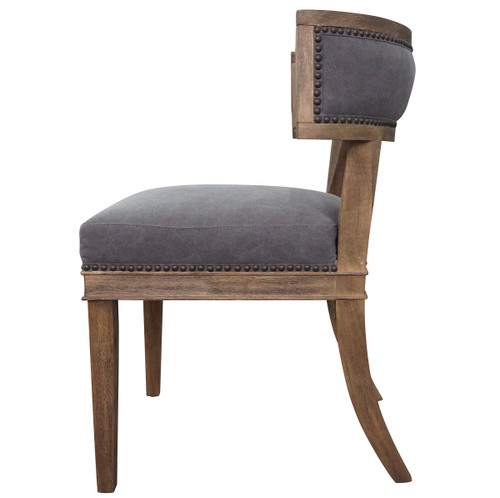 Groovy Carter Upholstered Curved Dining Chair Short Links Chair Design For Home Short Linksinfo