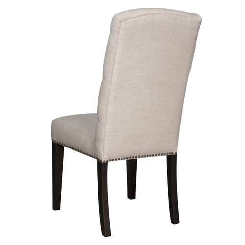 Maddy Upholstered Tufted Back Dining Chair Zin Home