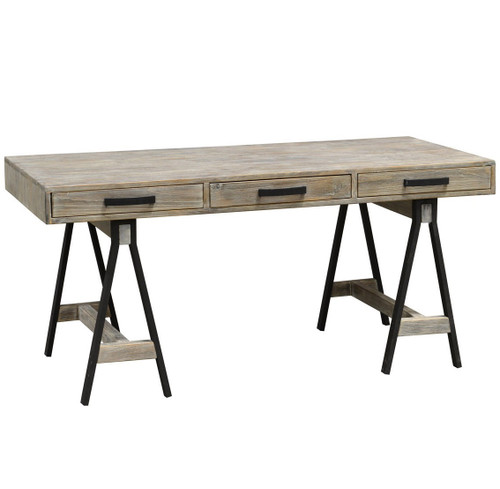 Attrayant ... Juliana Sawhorse Reclaimed Wood Desk