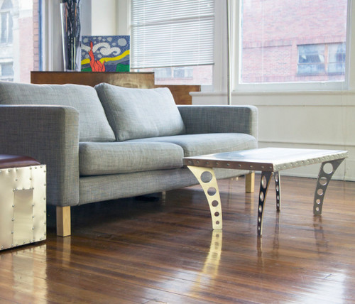 Aviator Aero Industrial JetSet Coffee Table