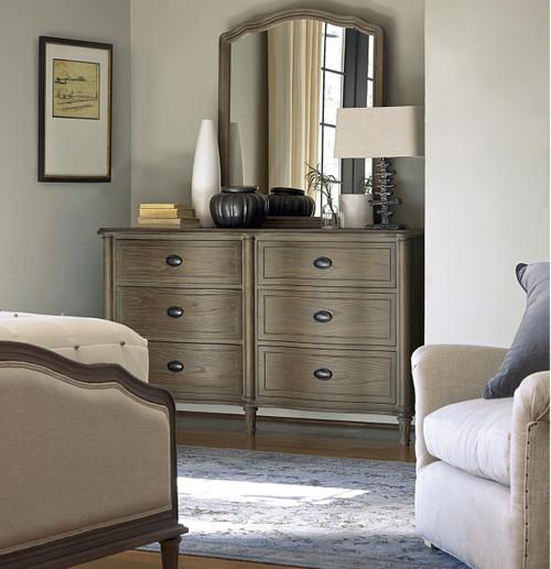 French Country Oak 6 Piece Queen Bedroom Set Zin Home