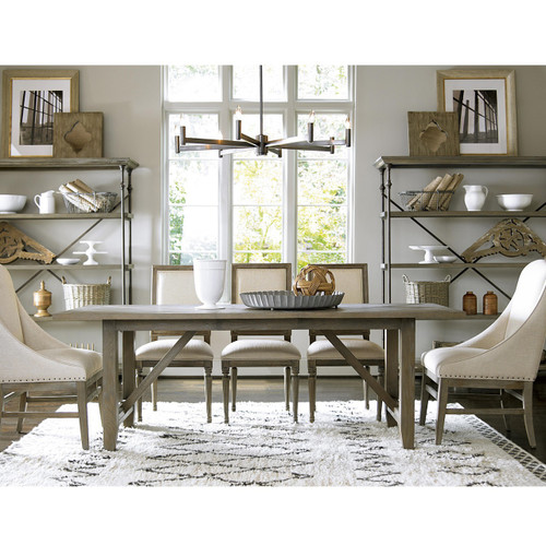 French Oak Extendable Farmhouse Kitchen Table