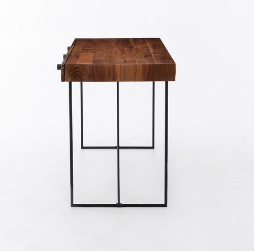 Wright Industrial Modern Wood Office Desk