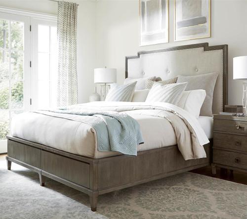 Playlist King Size Upholstered Platform Storage Bed