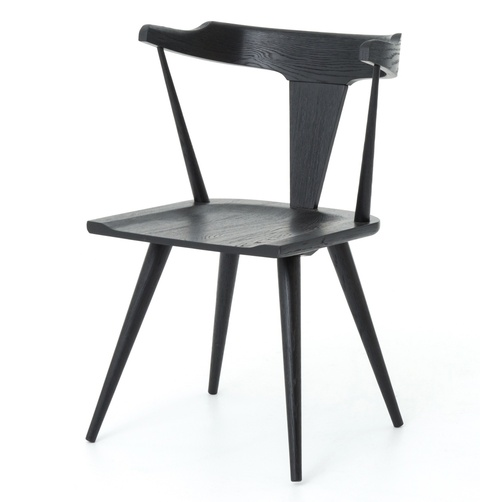 Ripley Black Oak Dining Chair