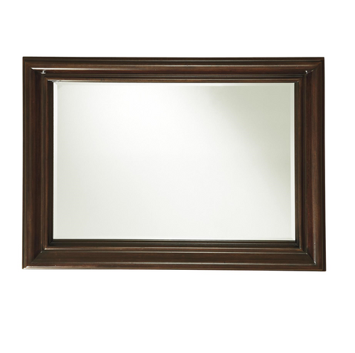Proximity Wood Frame Landscape Wall Mirror