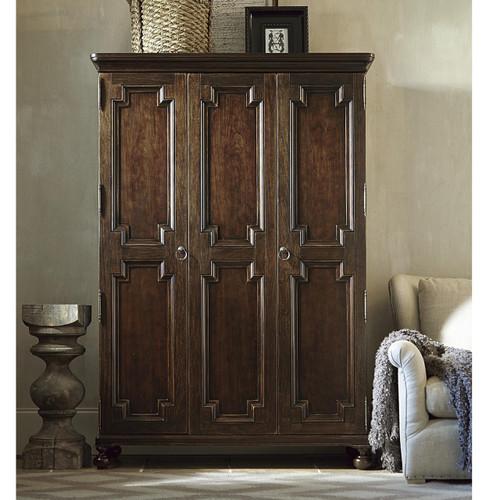 Proximity Cherry Wood 2 Door Armoire Cabinet