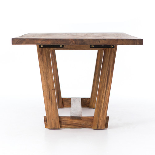 Beam Natural Solid Wood Dining Table 94\