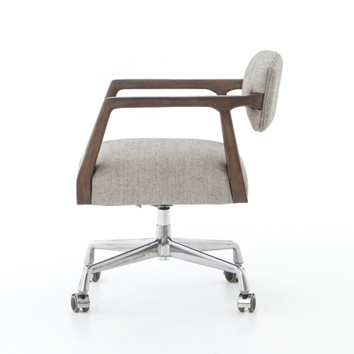 Tyler Mid Century Modern Upholstered Office Desk Chair