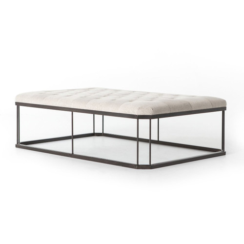 Isle Tufted Upholstered Cocktail Ottoman