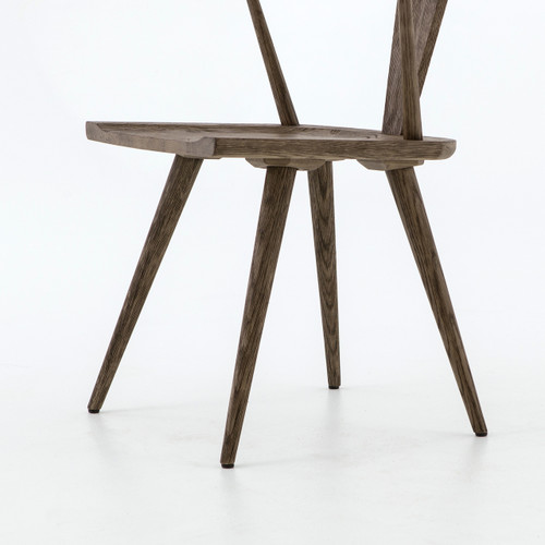 Magnificent Ripley Grey Oak Windsor Dining Chair Ocoug Best Dining Table And Chair Ideas Images Ocougorg